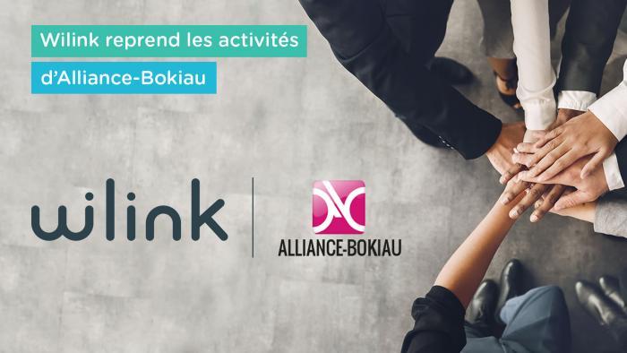 Wilink reprend les activités d'Alliance-Bokiau | Wilink